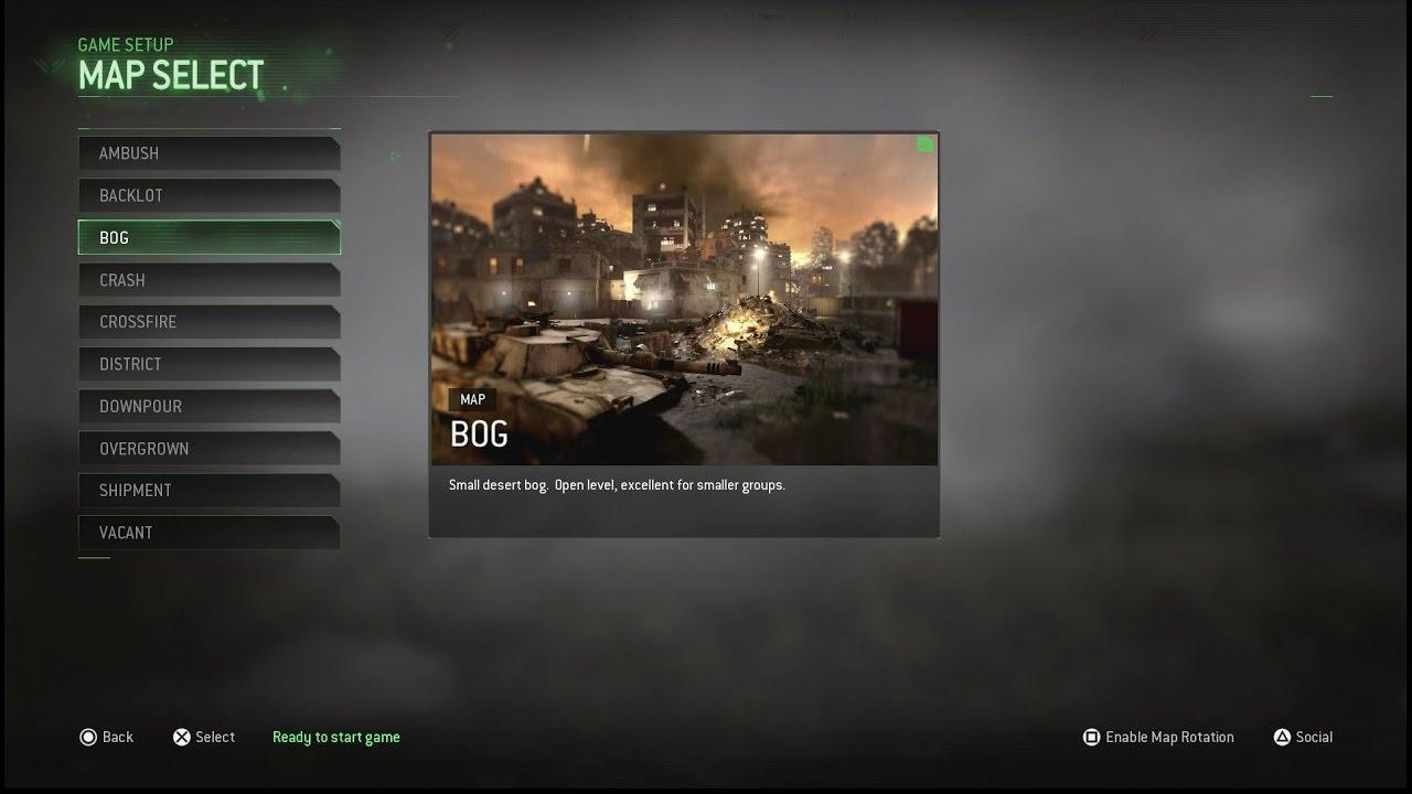 Call Of Duty Modern Warfare Maps List on call of duty mw3 maps list, call of duty black ops maps list, call of duty world at war maps list,