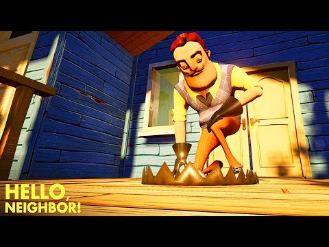 HE'S GOT A SHARK?!?! | Hello Neighbor | Fan Choice Friday