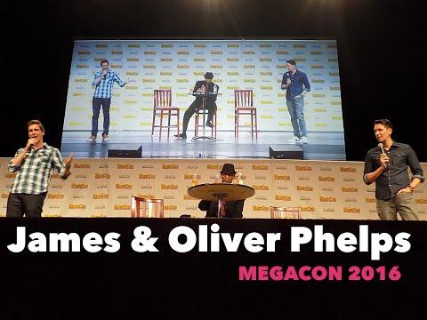James & Oliver Phelps at MegaCon - May 2016