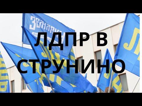 ЛДПР В СТРУНИНО  #Жириновский решил с агетировать народ
