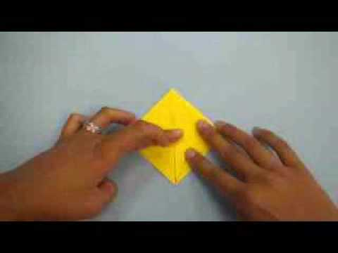 Origami Crane W Flapping Wings Youtube