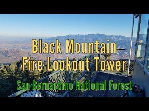 Black Mountain Fire Lookout Tower - San Bernardino National Forest