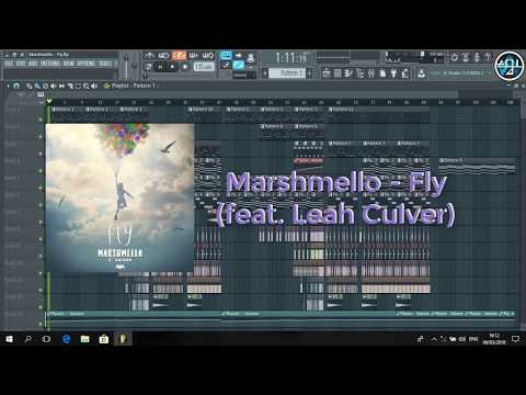 Marshmello - Fly ft. Leah Culver (Remake) FLP