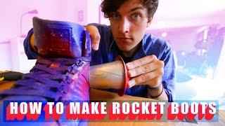 как сделать реактивные ботинки - Kickthepj Rus Sub