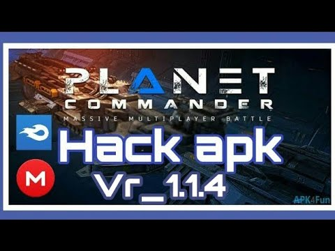 planet commander hack mod apk