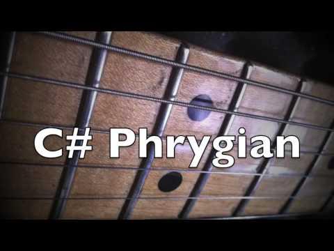 C Phrygian Mode  Spanish Vibe Groove Backing Track