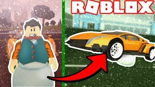 *WINTER UPDATE* SNOWMAN GLITCH in VEHICLE SIMULATOR! (Roblox Vehicle Simulator) #34