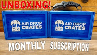 The ULTIMATE GAMING Subscription BOX!! (AIRDROP CRATES)