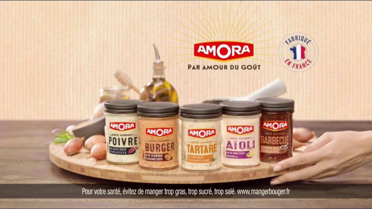 """Musique de la pub Sauce Gourmet Amora """"fournisseur officiel du Tour de France""""  2021"""