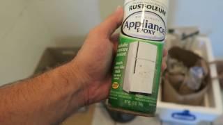 Paint Your Fridge DIY - Update