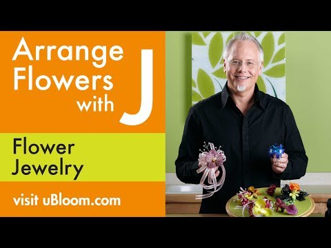 How to Arrange Flowers: Gluing Corsages &  Flower Jewelry!