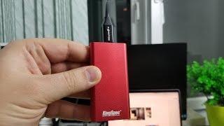 НОВЫЙ СКОРОСТНОЙ USB 3.1 SSD KingSpec 1Tb + ТЕСТЫ