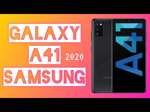 Samsung Galaxy A41 | UNBOXiNG