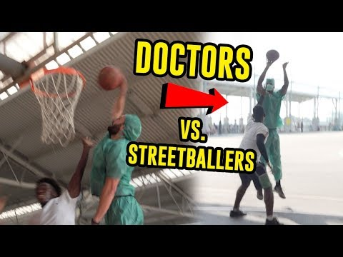 Doctors Pull Up To Park And DESTROY STREETBALLERS! Prank Gets OUT OF HAND 😱