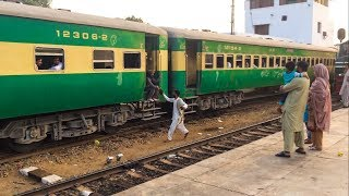 An Evening With Millat Express | Karachi Cantt Station Sights | Pakistan Railways