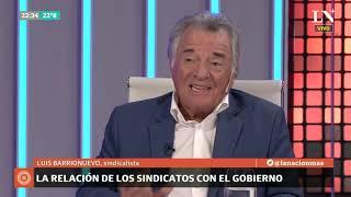 Luis Barrionuevo entrevistado por Carlos Pagni en Odisea Argentina