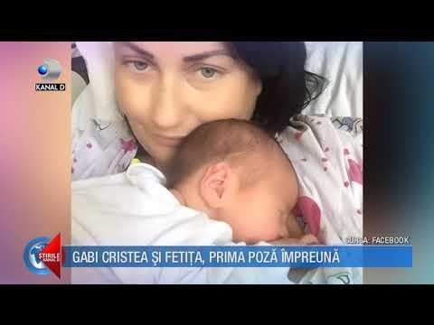 Stirile Kanal D (25.09.2017) - Gabriela Cristea si fetita, prima poza impreuna! Editie COMPLETA