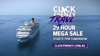 Click Frenzy Travel August  2019 - Starts tomorrow