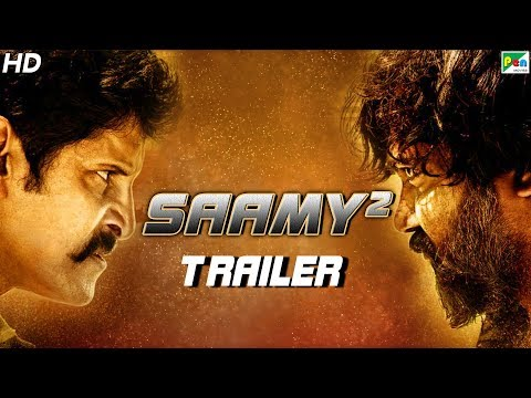 Saamy² | Official Hindi Dubbed Movie Trailer | Vikram, Keerthy Suresh, Aishwarya Rajesh