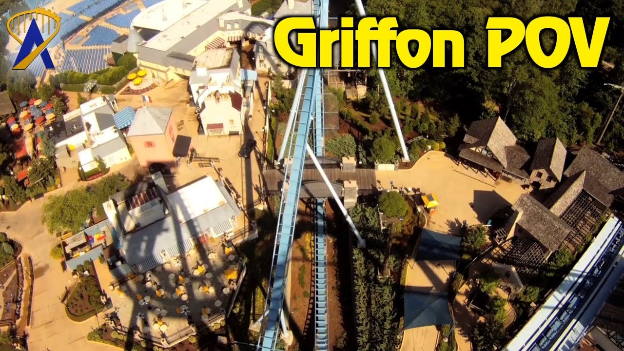 Griffon Roller Coaster POV Busch Gardens Williamsburg - YouTube