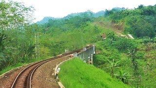 Jalur KA Blitar-Malang yang MEMUKAU   Backride KA Penataran Garum-Malang