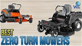 6 Best Zero Turn Mowers 2018