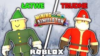 ŁATWE VS TRUDNE ZADANIA W MINING SIMULATOR | ROBLOX #admiros