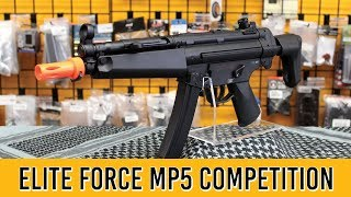 Elite Force H&K MP5 A4 A5 Competition Airsoft Gun Review