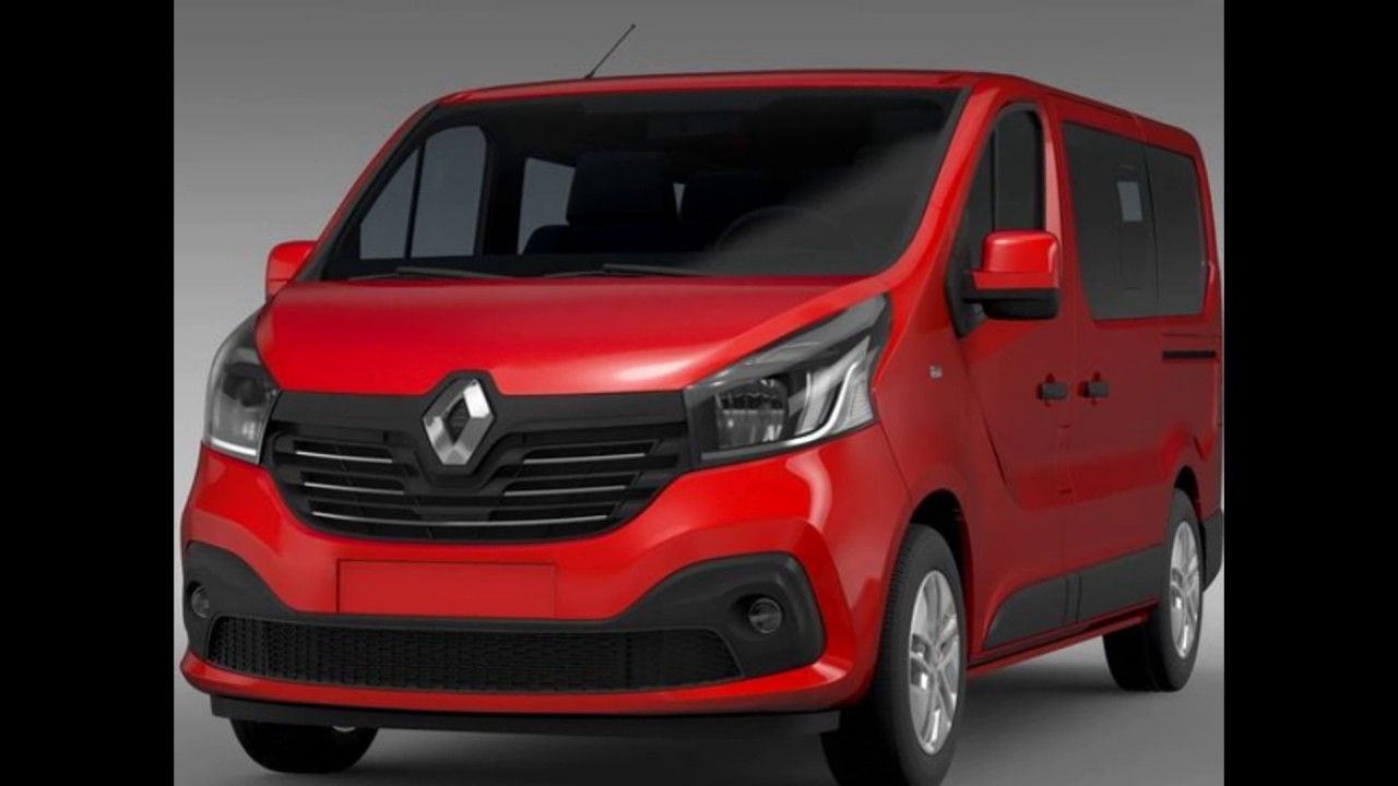 new 2018 renault trafic van minibus youtube. Black Bedroom Furniture Sets. Home Design Ideas