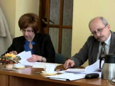Jeziorany, posiedzenie komisji-pomoc społeczna, część III.