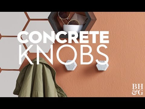 How to Make Concrete Hardware | Made by Me - Home | Better Homes & Gardens