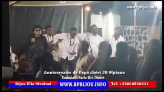 anniversaire de jb mpiana jb mpiana rend hommage  papa wemba avec la nouvelle dance siberi
