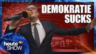 Ralf Kabelka: Ist die Demokratie am Ende? | heute-show vom 21.09.2018
