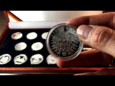 über Den Heutigen Wert Der Medaillen Sammlung Deutschland Einig