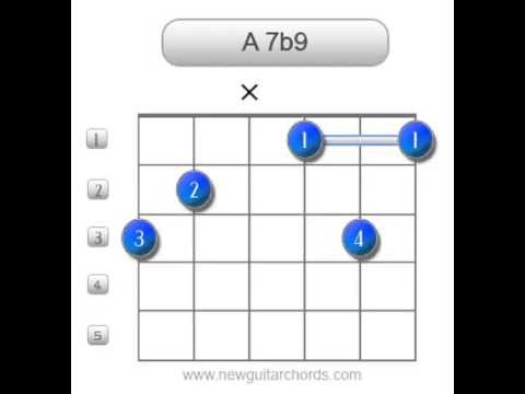 A7b9 Guitar Chords - YouTube