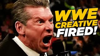 WWE Fires Head Writers, RAW Reunion Causes Backstage Problems