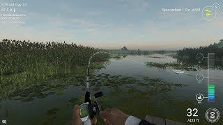 Trying again, let's see if my INTERWEBZ holds out! Fishing Planet!