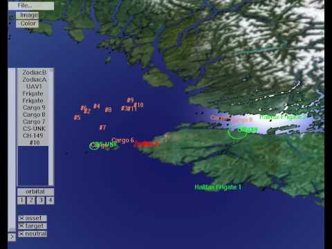 Coastal Surveillance Simulation
