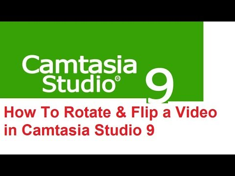 How to rotate flip a video in camtasia studio 9 youtube ccuart Image collections