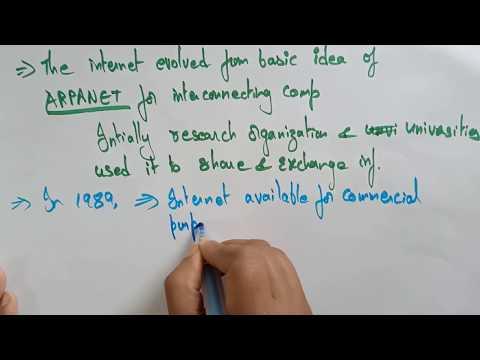 Internet history  | Web Technology | Lec-1 | Bhanu Priya thumbnail