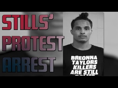 Houston Texans' Kenny Stills arrested during Breonna Taylor protest