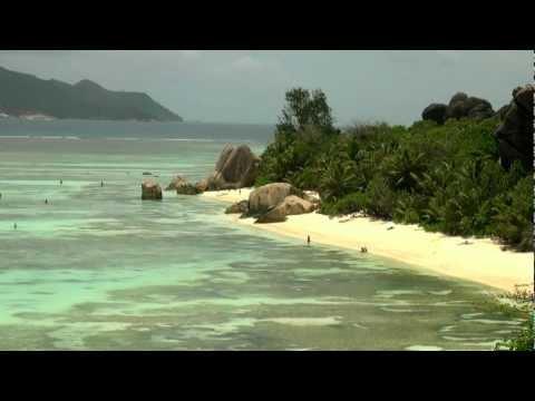 Anse  Source d 'Argent - excursion / La Digue / Seychelles Islandas