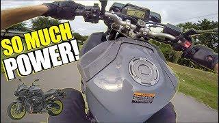 TORQUE MONSTER! - 2017 Yamaha FZ-10 Test Ride + Review
