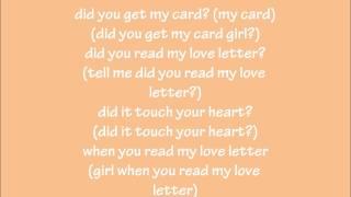 R.Kelly-Love Letter (Lyrics)