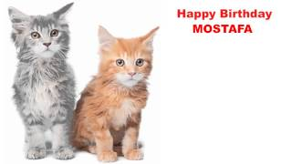 Mostafa  Cats Gatos - Happy Birthday