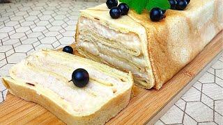 Торт из Блинов с Яблоками [Апельсиновая кухня]