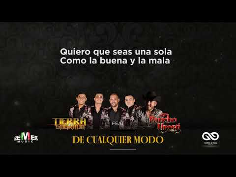 Banda Tierra Sagrada - De cualquier modo ft. Pancho Uresti (Video Lyric)