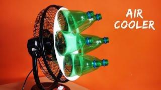 Evde Plastik Şişe kullanarak Hava Soğutucu yapmak için nasıl - Eko Soğutucu