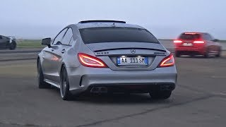 BRABUS Mercedes-Benz CLS63 S AMG La Performance! REVS + DRAG RACING!