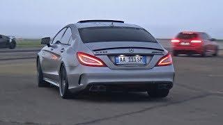 BRABUS Mercedes-Benz CLS63 S AMG La Performance! REVS + DRAG RACING!